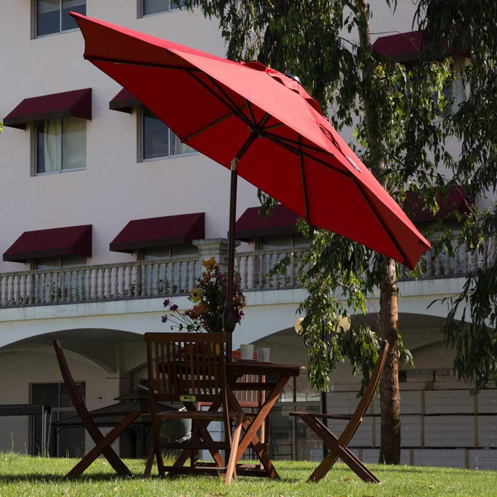 سایبان چتری میز