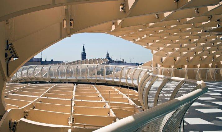 متروپل پاراسول , بزرگ ترین سایبان چوبی جهان , بزرگترین سایبان سازه چوبی جهان