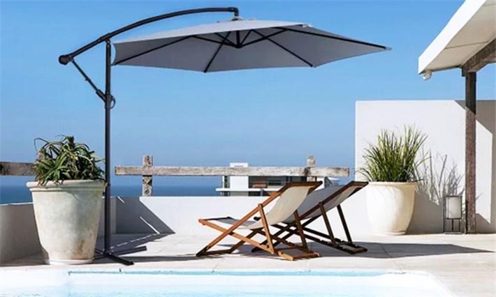 سایبان چتری پایه کنار