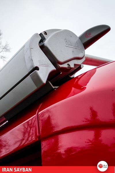 انواع سایبان همراه خودرو