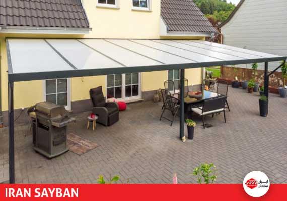 سفارش سقف برقی پلی کربنات
