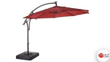 سایبان چتری برقی