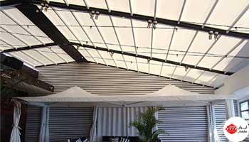 سقف برقی پارچه ای