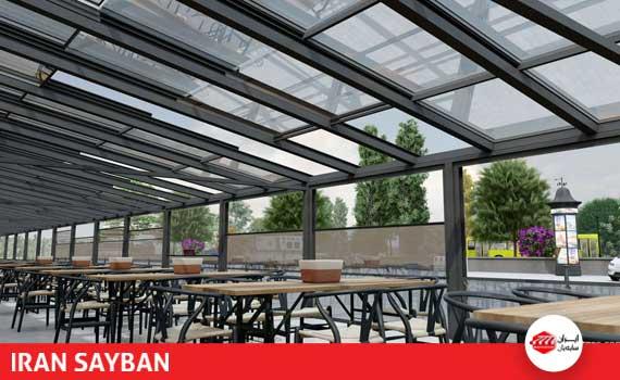 سقف برقی پلی کربنات