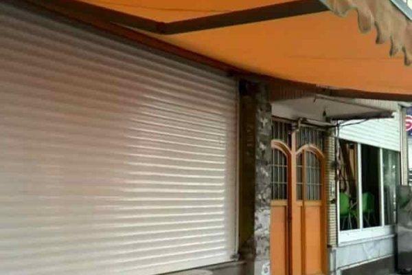 نمونه سایبان برقی مغازه