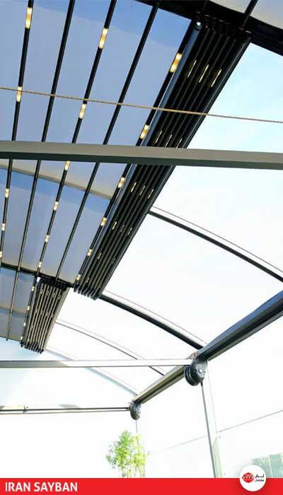 پارچه سقف برقی